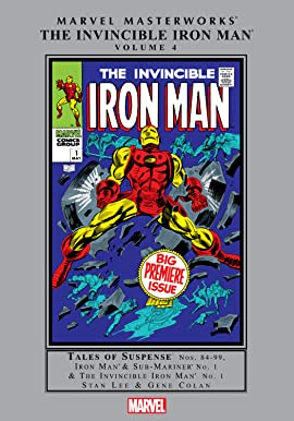 Iron Man Masterworks Vol. 4