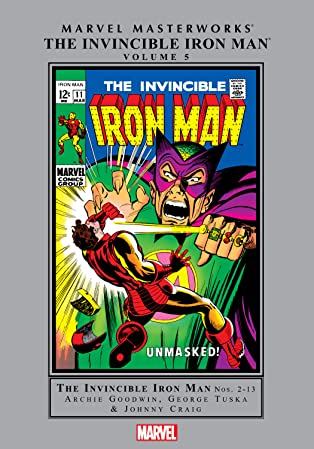Iron Man Masterworks Vol. 5
