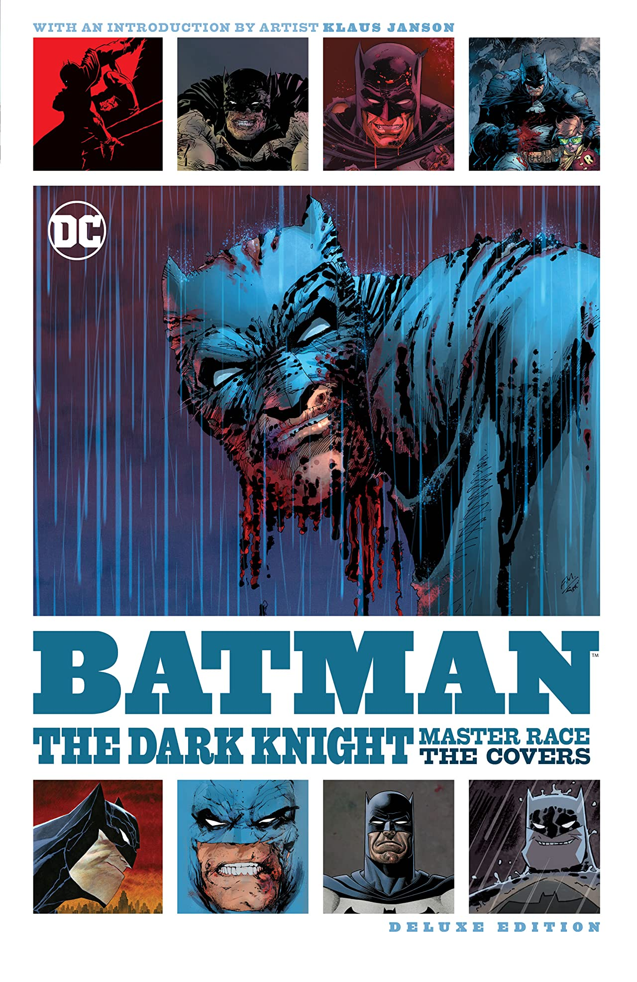 Batman: The Dark Knight: Master Race - The Covers Deluxe Edition