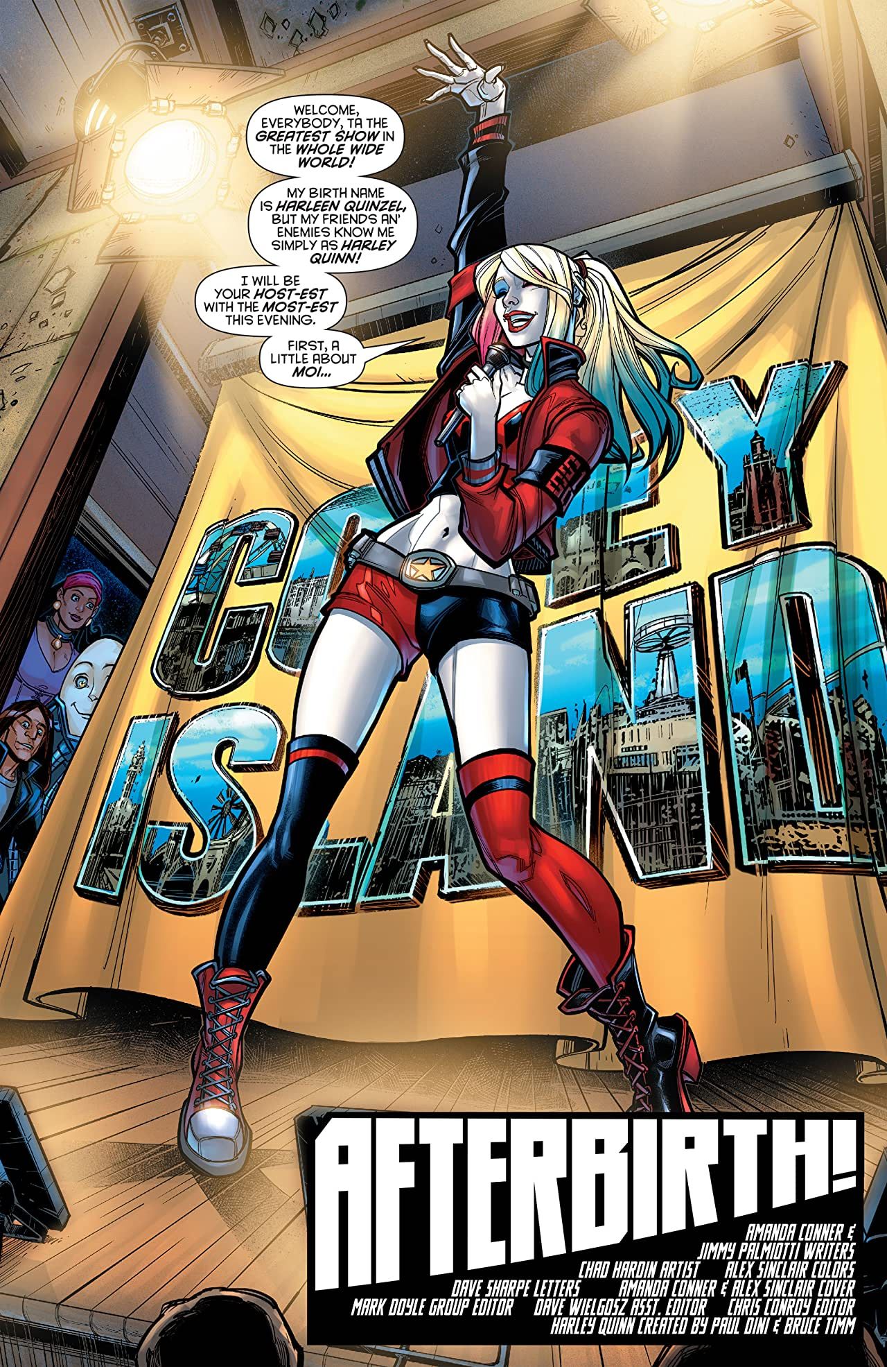 Harley Quinn: The Rebirth Deluxe Edition - Book 1