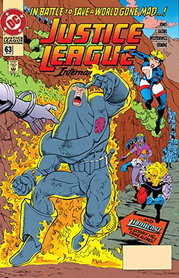 Justice League International (1989-1993) #63