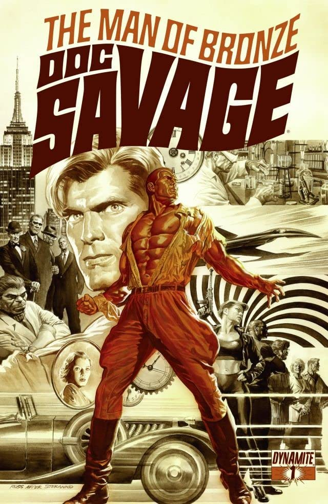 Doc Savage #1: Digital Exclusive Edition
