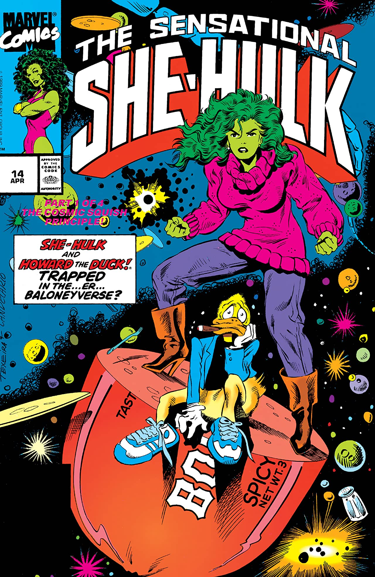 Sensational She-Hulk (1989-1994) #14