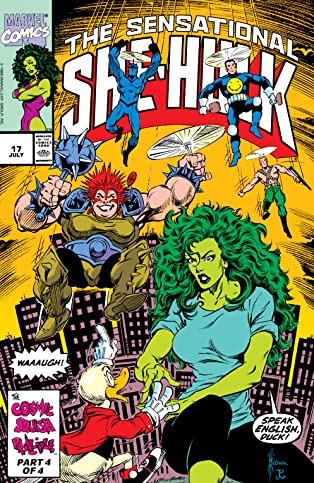 Sensational She-Hulk (1989-1994) #17