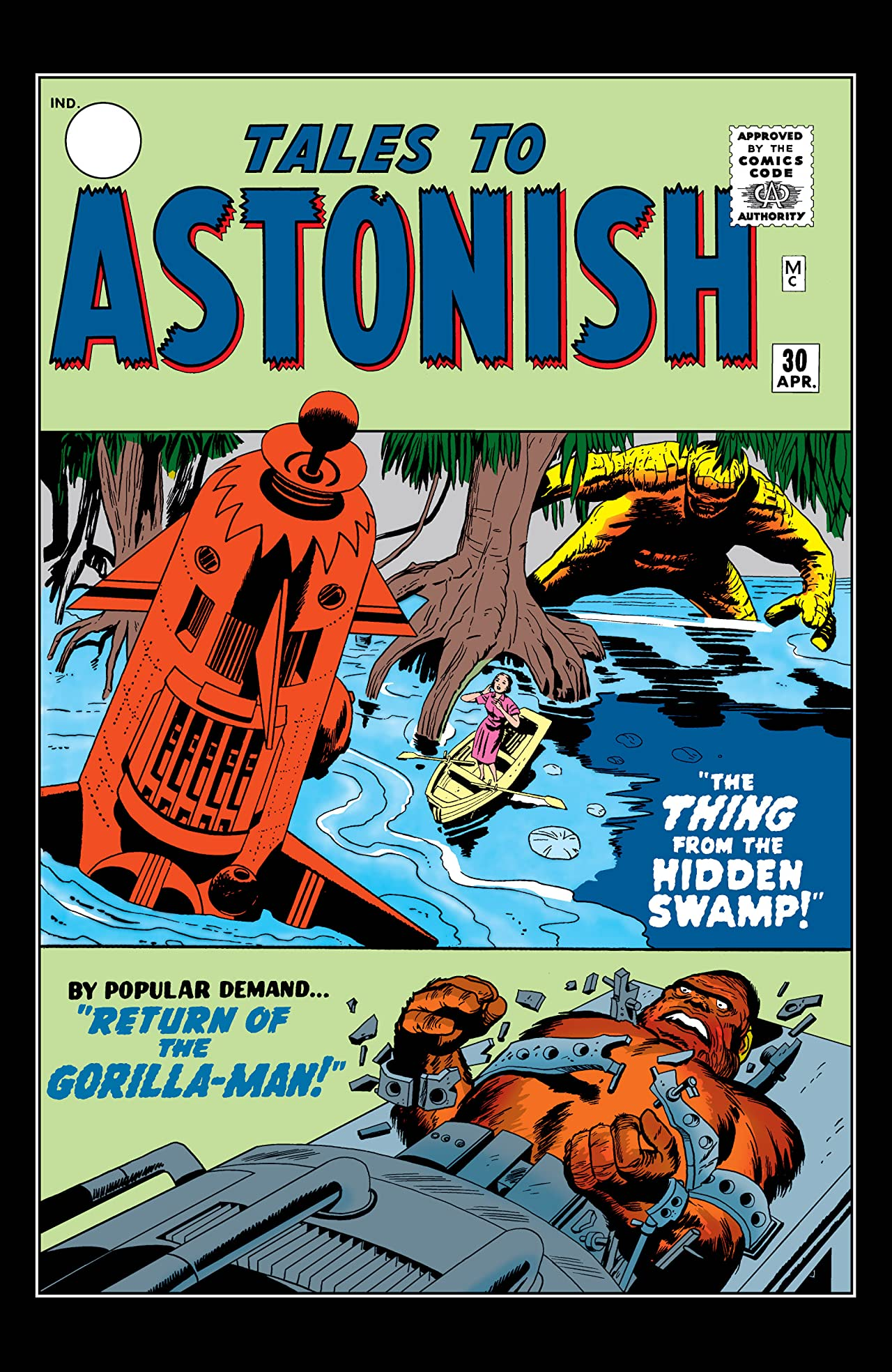 Tales to Astonish (1959-1968) #30