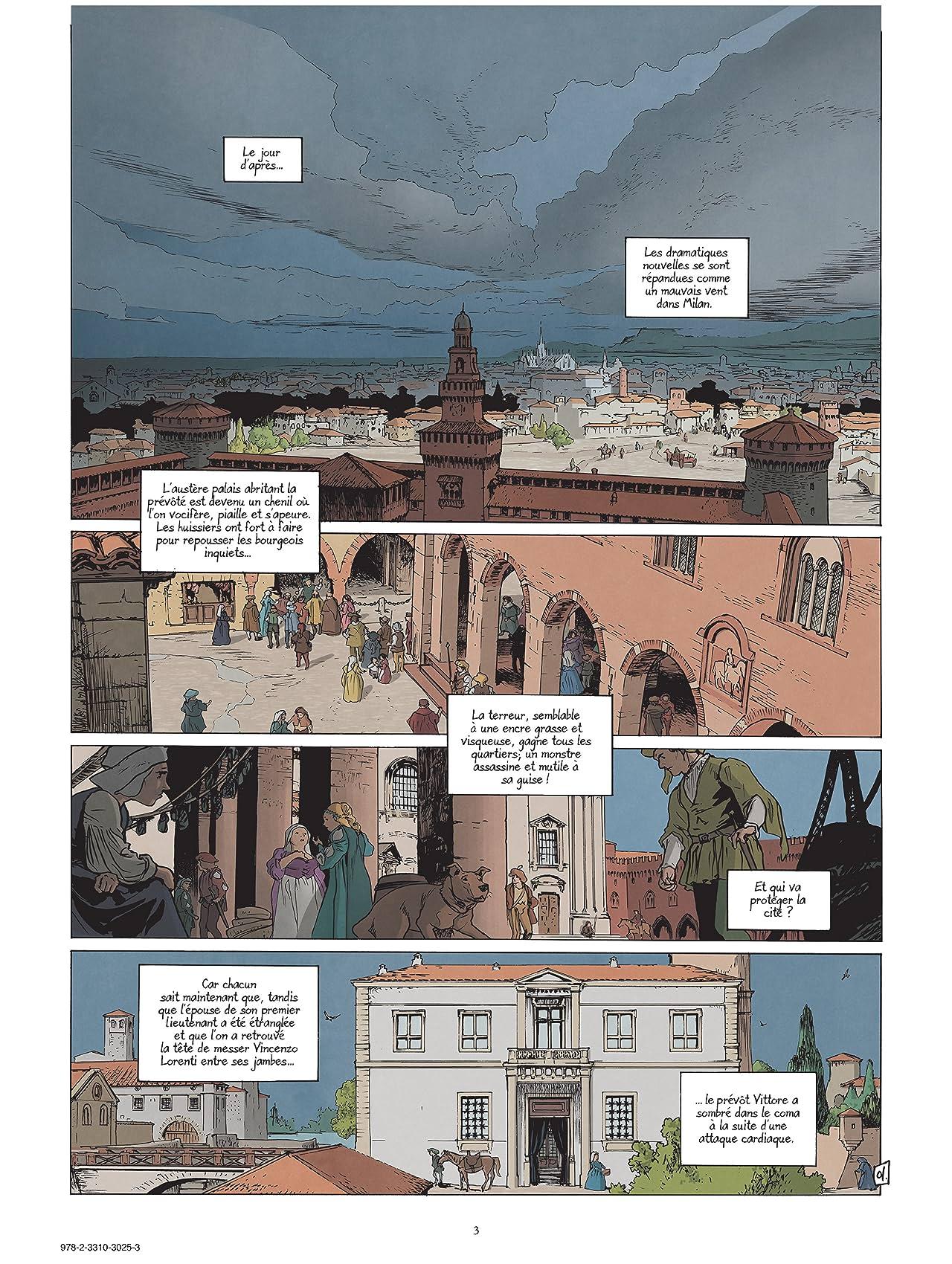 Michel Ange Vol. 2: Le Banquet des Damnés