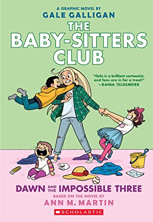 The Baby-Sitters Club Vol. 5: Dawn and the Impossible Three: Full-Color Edition