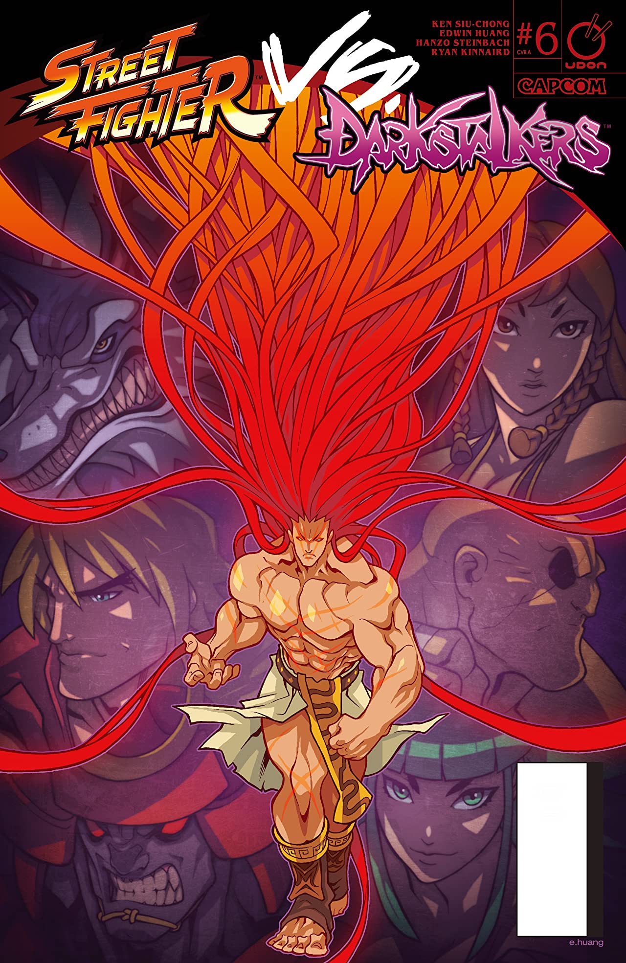 Street Fighter VS Darkstalkers #6 (of 8)