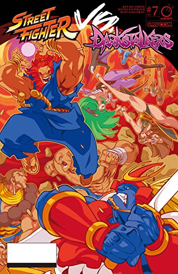 Street Fighter VS Darkstalkers No.7 (sur 8)