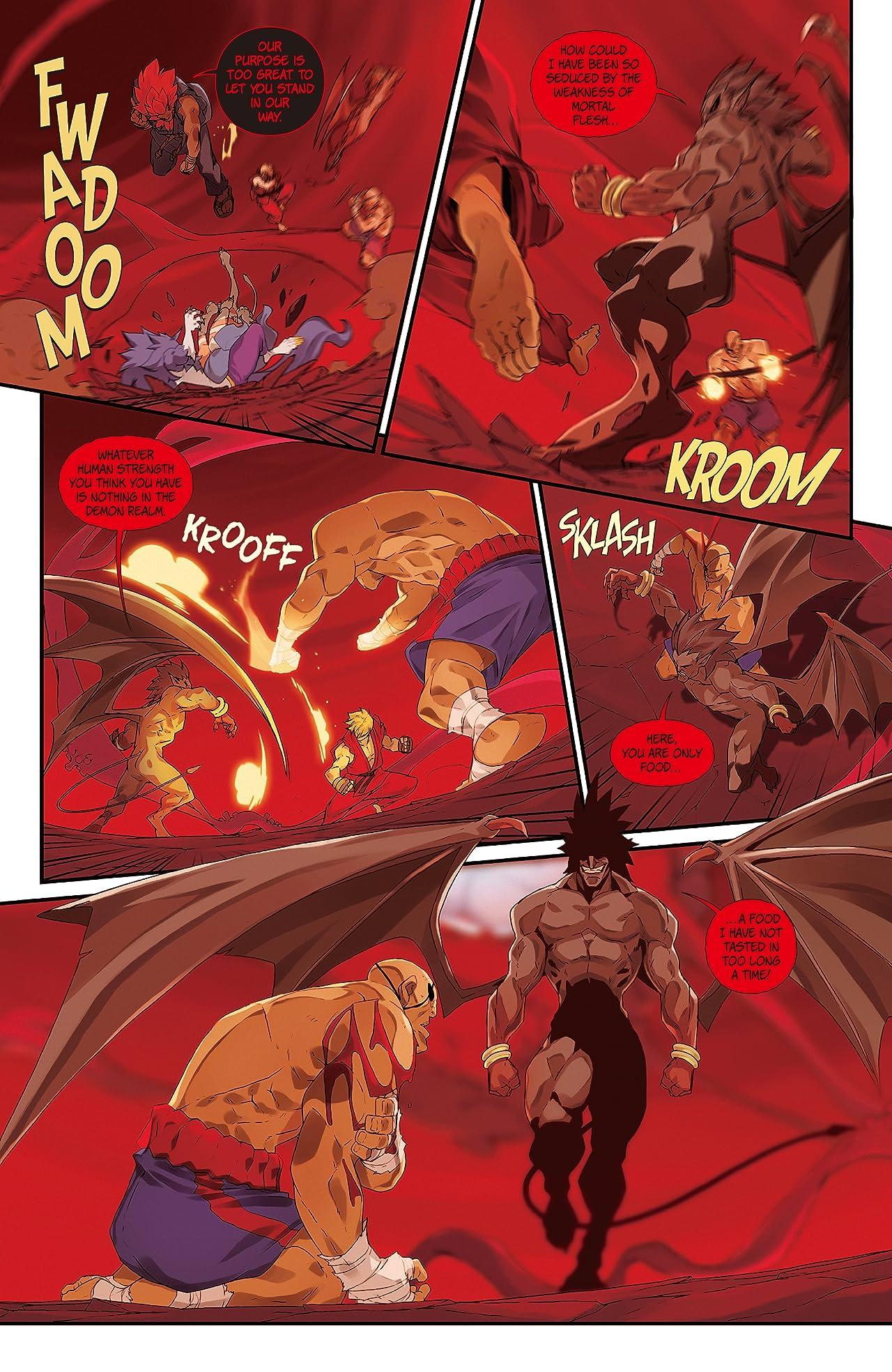 Street Fighter VS Darkstalkers #7 (of 8)