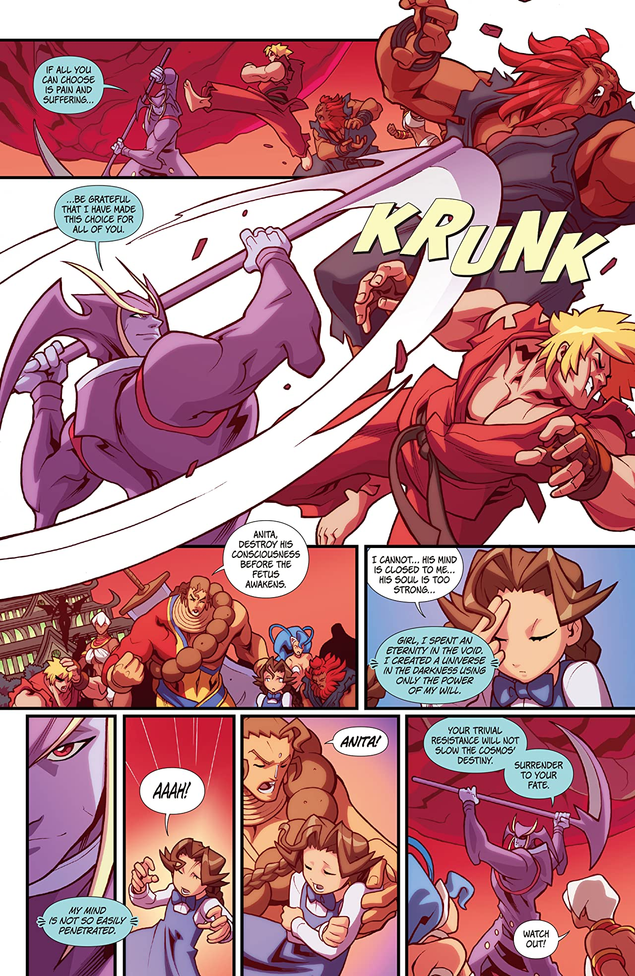 Street Fighter VS Darkstalkers #8 (of 8)