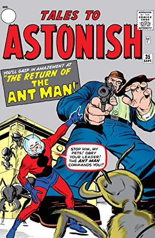 Tales to Astonish (1959-1968) #35