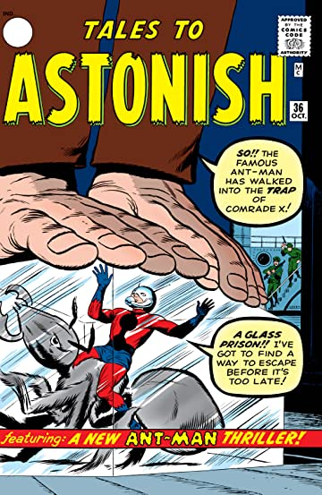 Tales to Astonish (1959-1968) #36
