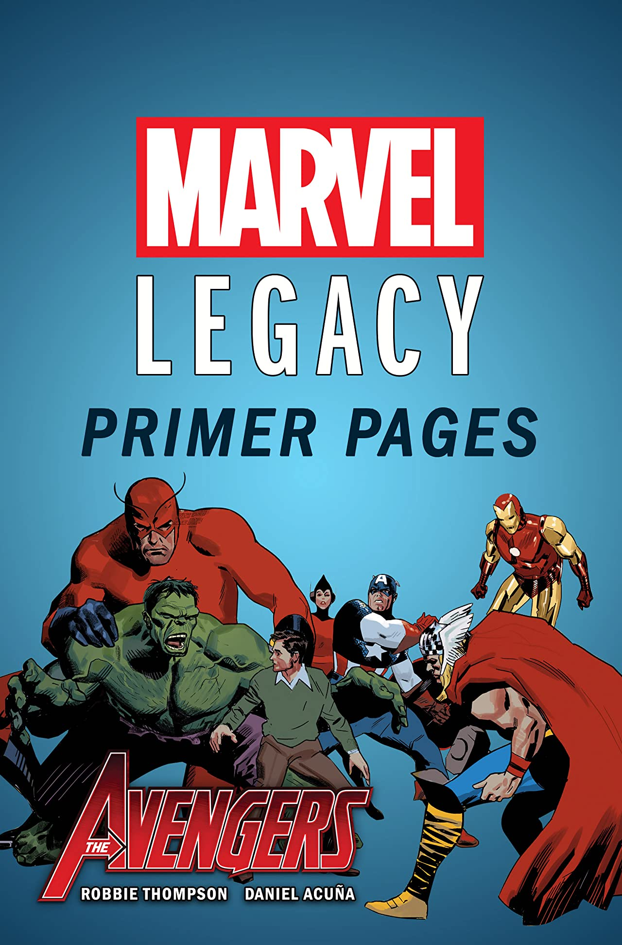 Avengers - Marvel Legacy Primer Pages