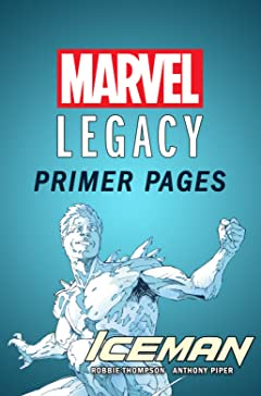 Iceman - Marvel Legacy Primer Pages