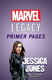 Jessica Jones - Marvel Legacy Primer Pages