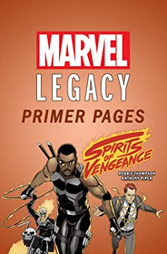 Spirits of Vengeance - Marvel Legacy Primer Pages