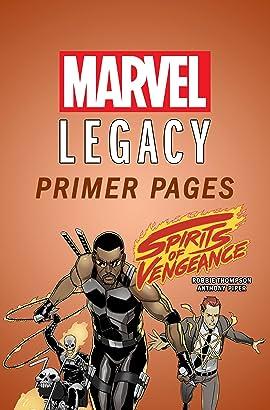 Spirits of Vengeance - Marvel Legacy Primer Pages