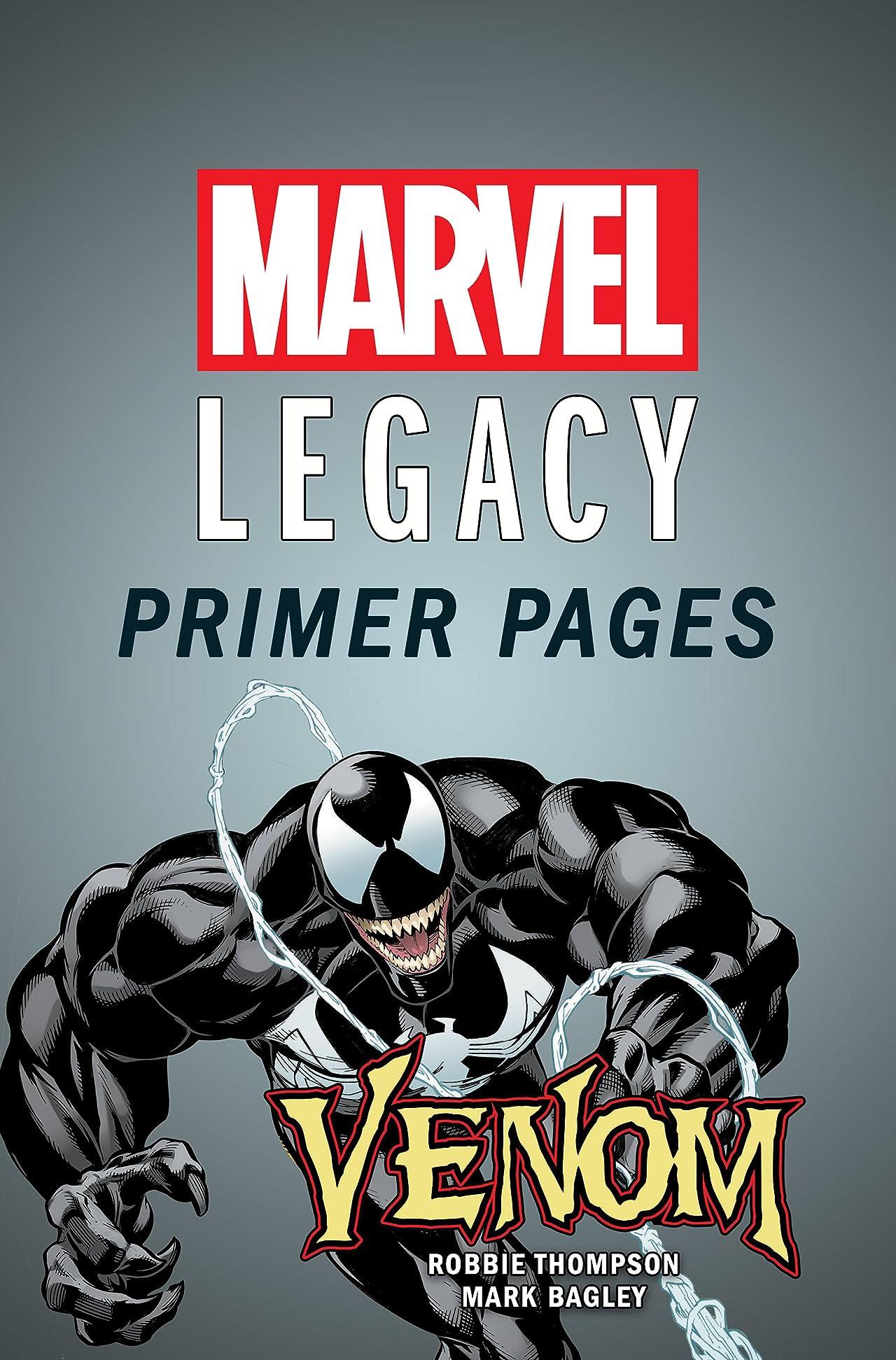 Venom - Marvel Legacy Primer Pages