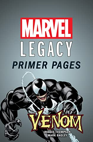Venom - Marvel Legacy Primer Pages
