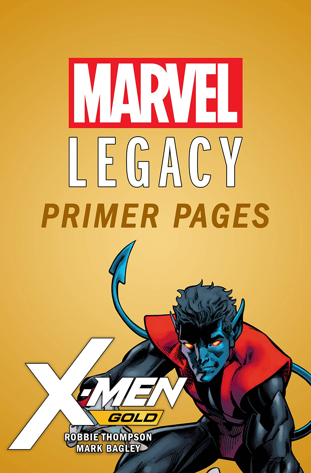 X-Men Gold - Marvel Legacy Primer Pages
