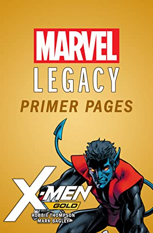 X-Men: Gold - Marvel Legacy Primer Pages