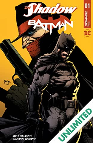 The Shadow/Batman #1