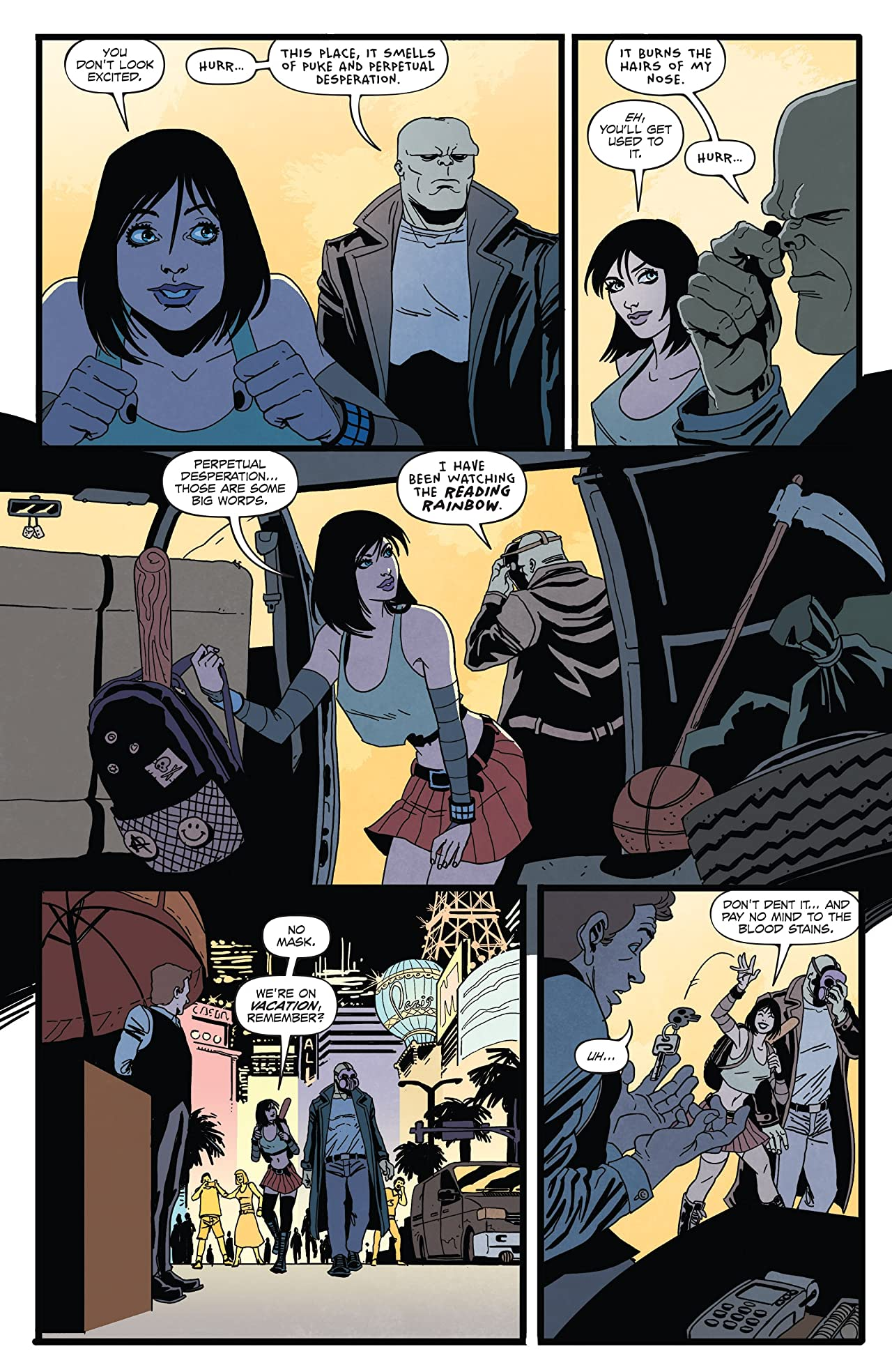 Hack/Slash vs. Vampirella #1