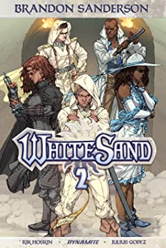 Brandon Sanderson's White Sand Tome 2