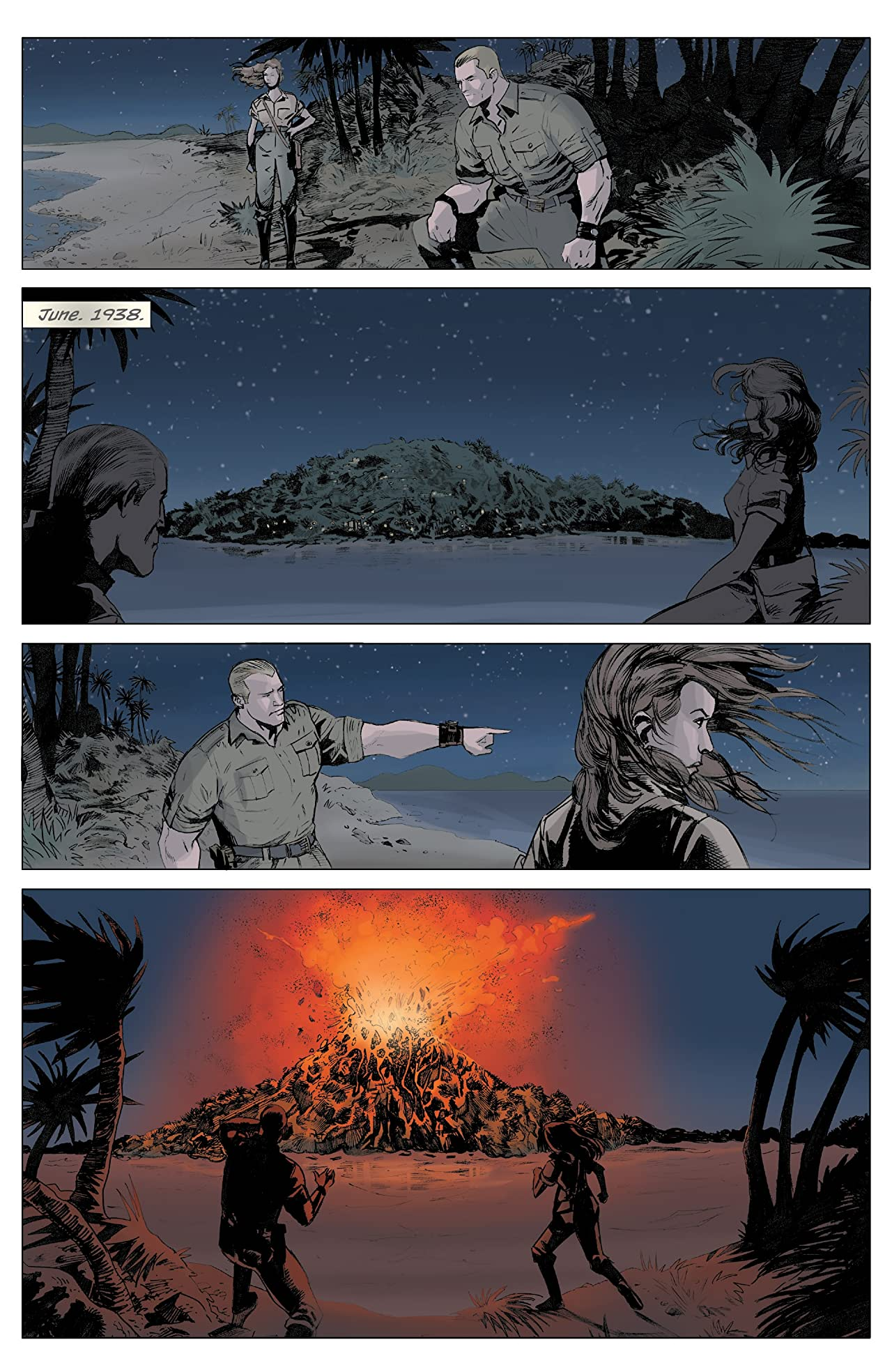 Doc Savage: The Ring Of Fire
