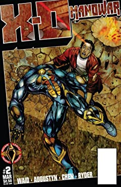 X-O Manowar (1996-1998) No.2