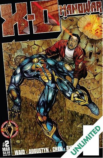 X-O Manowar (1996-1998) #2