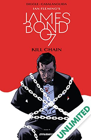 James Bond: Kill Chain (2017) #4 (of 6)