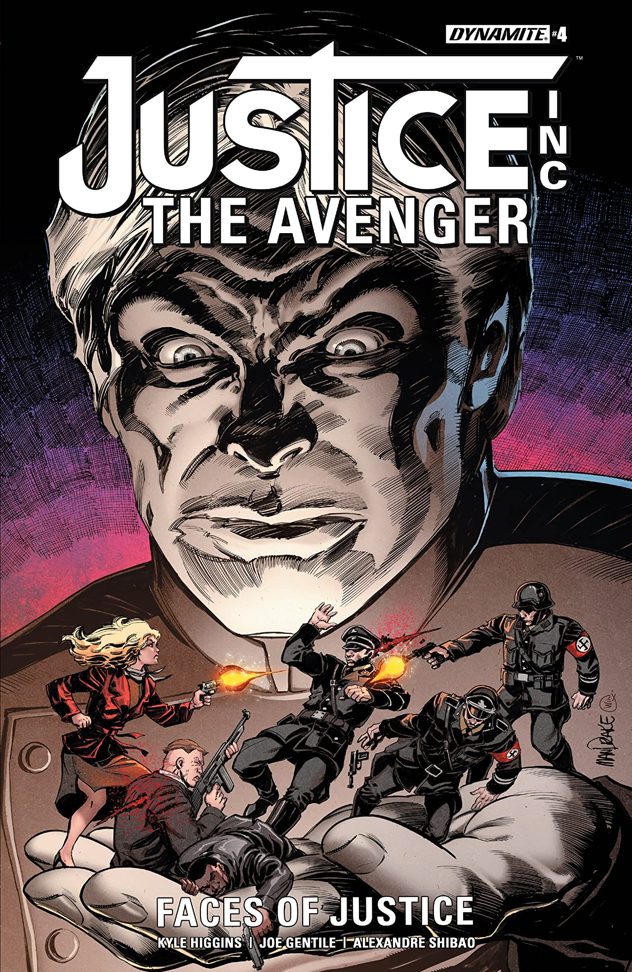 Justice Inc: The Avenger - Faces Of Justice #4