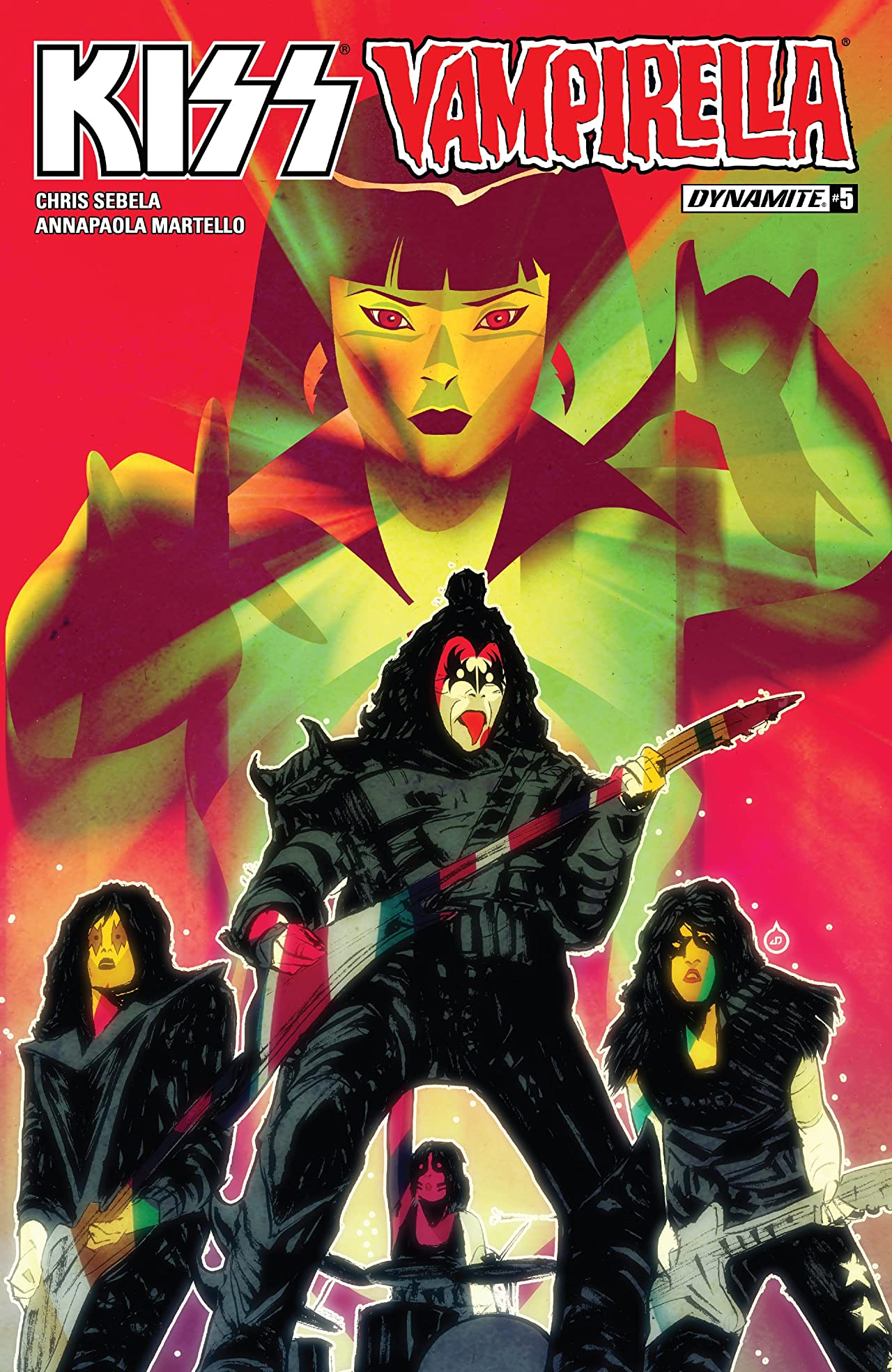 Kiss/Vampirella #5