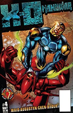 X-O Manowar (1996-1998) No.4