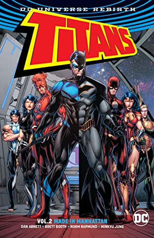 Titans (2016-) Tome 2: Made in Manhattan
