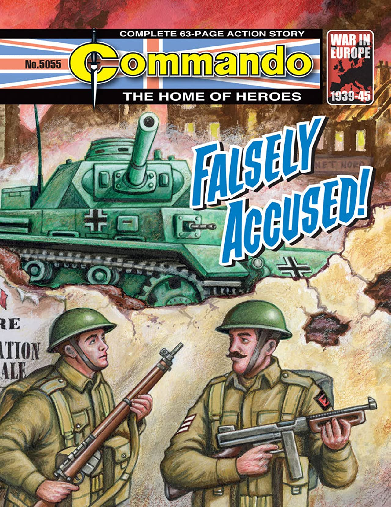 Commando #5055: Falsely Accused!