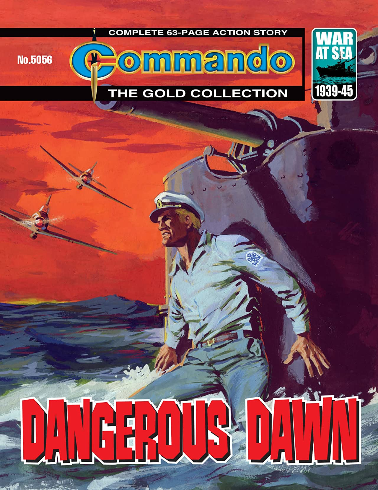 Commando #5056: Dangerous Dawn