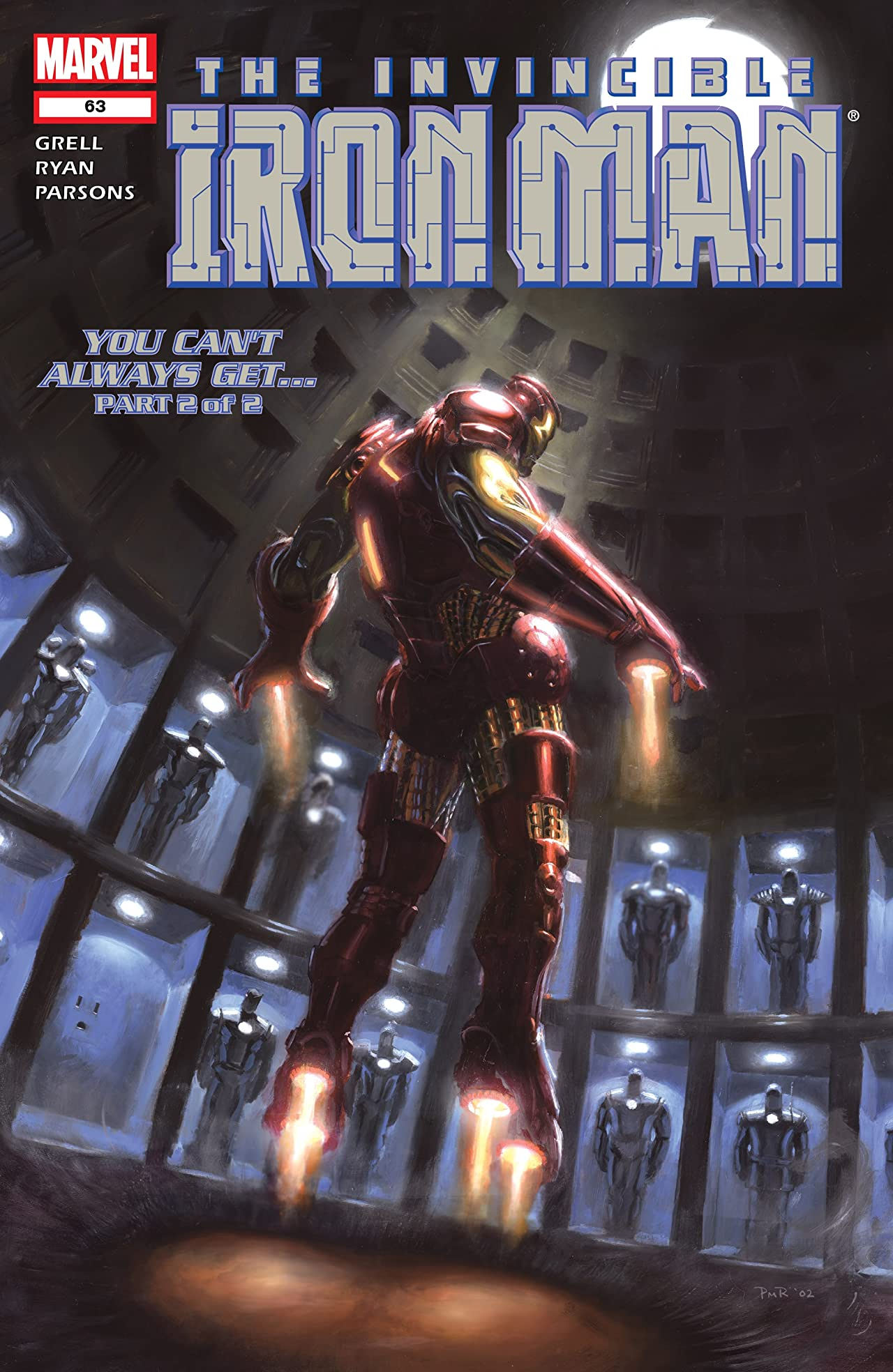 Iron Man (1998-2004) #63