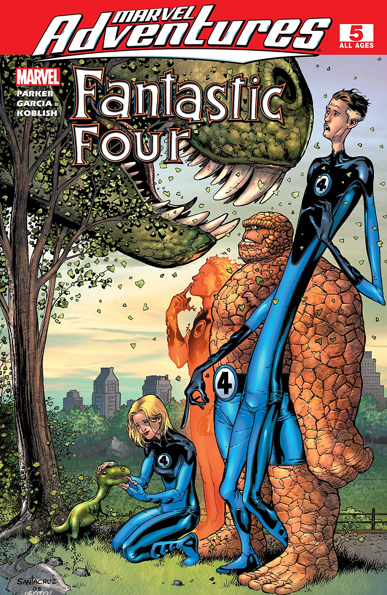 Marvel Adventures Fantastic Four (2005-2009) #5
