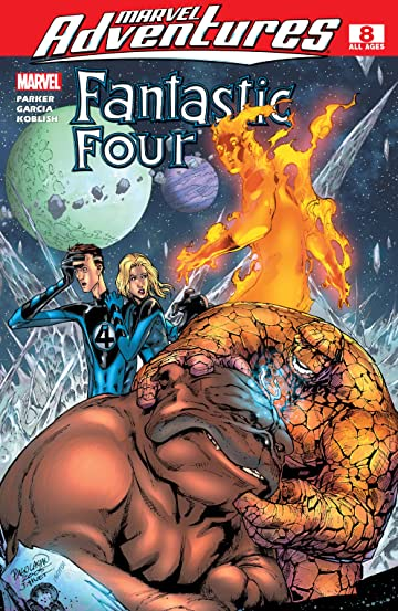 Marvel Adventures Fantastic Four (2005-2009) #8