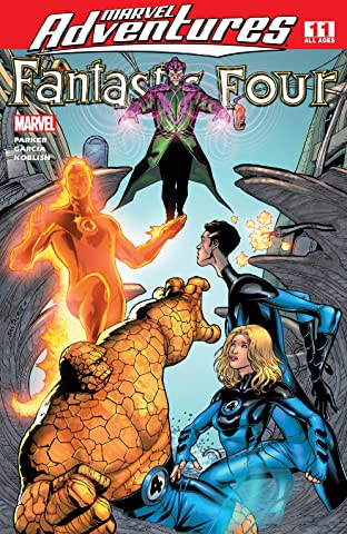 Marvel Adventures Fantastic Four (2005-2009) #11