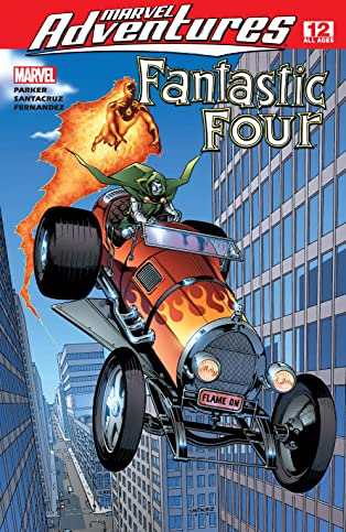 Marvel Adventures Fantastic Four (2005-2009) #12
