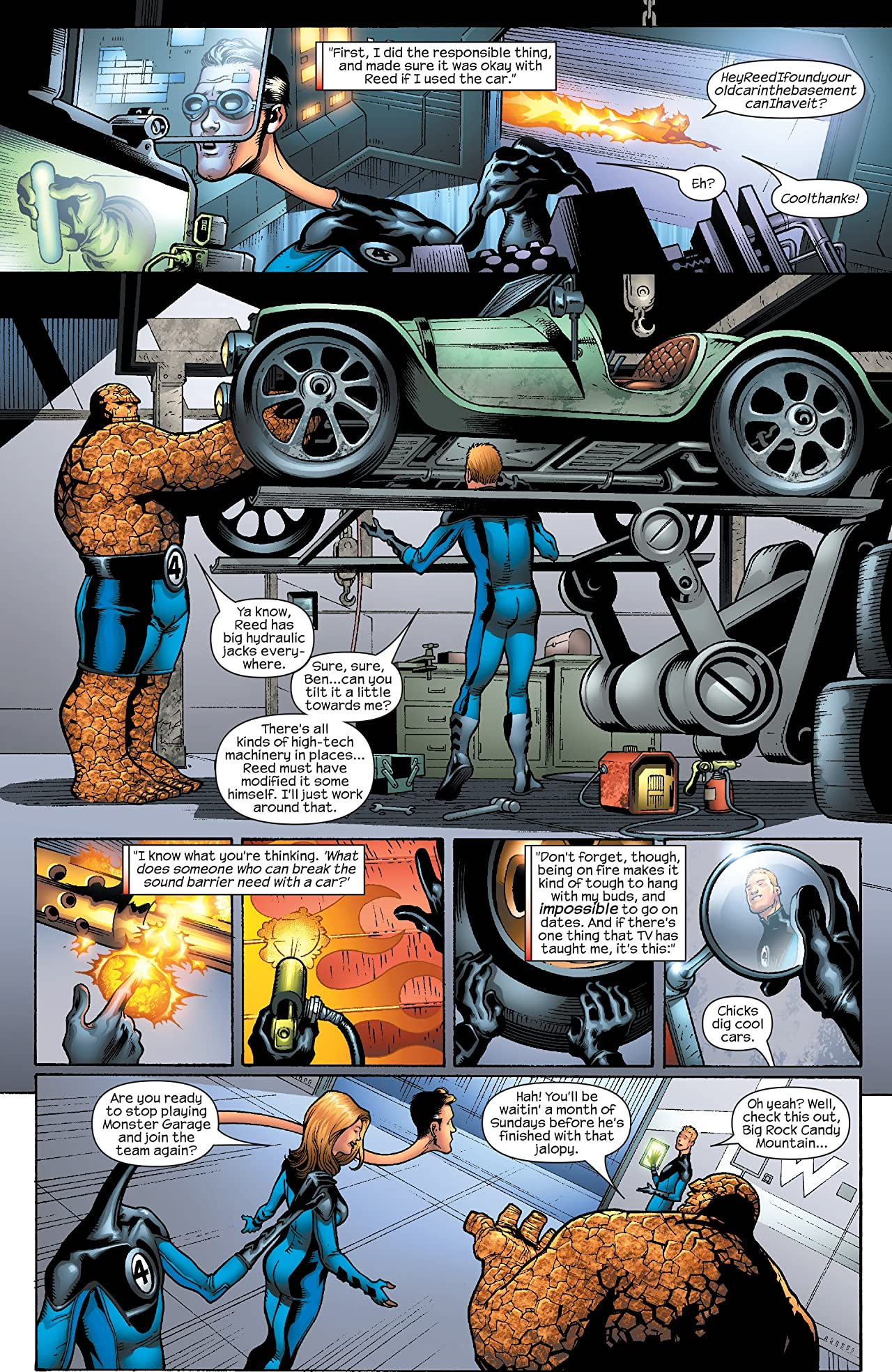 Marvel Adventures Fantastic Four (2005-2009) #12