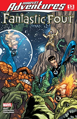 Marvel Adventures Fantastic Four (2005-2009) #13