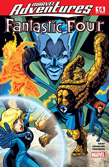 Marvel Adventures Fantastic Four (2005-2009) #14