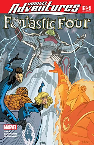 Marvel Adventures Fantastic Four (2005-2009) #15