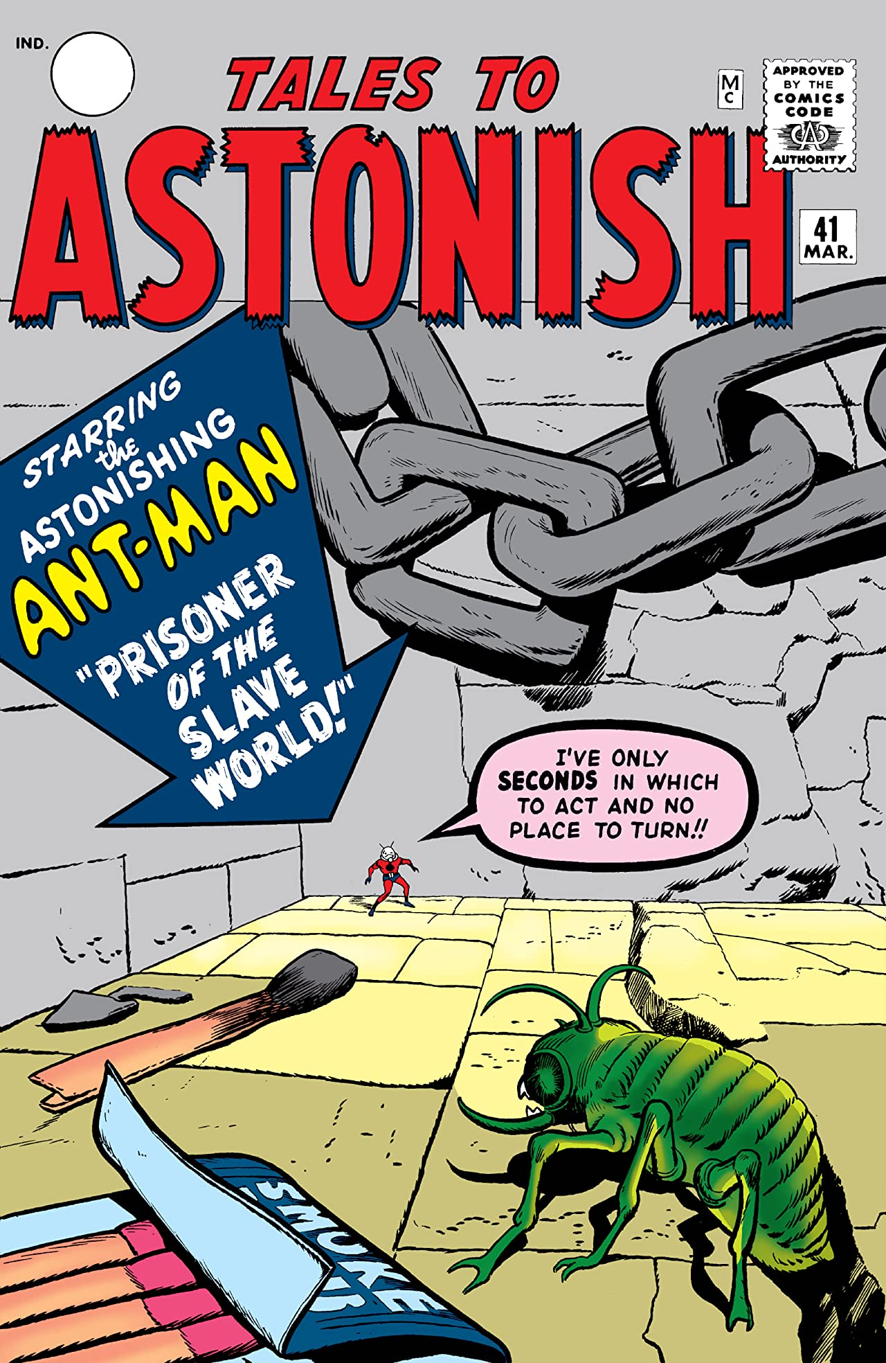 Tales to Astonish (1959-1968) #41