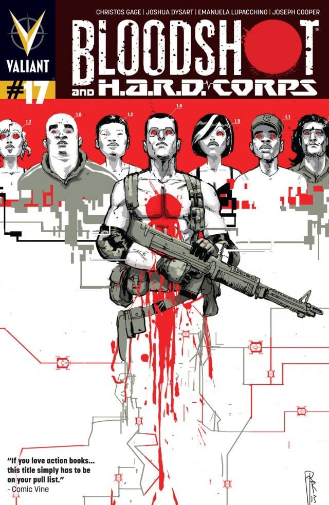 Bloodshot and H.A.R.D. Corps (2013- ) No.17: Digital Exclusives Edition